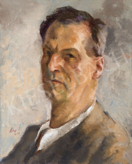 Szőnyi, István - Self Portrait in the Zebegény Atelier, 1938