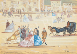 Molnár C. Pál - Régi Magyarország 1845 körül