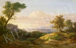 Ifj. Markó Károly - Itáliai táj, 1842
