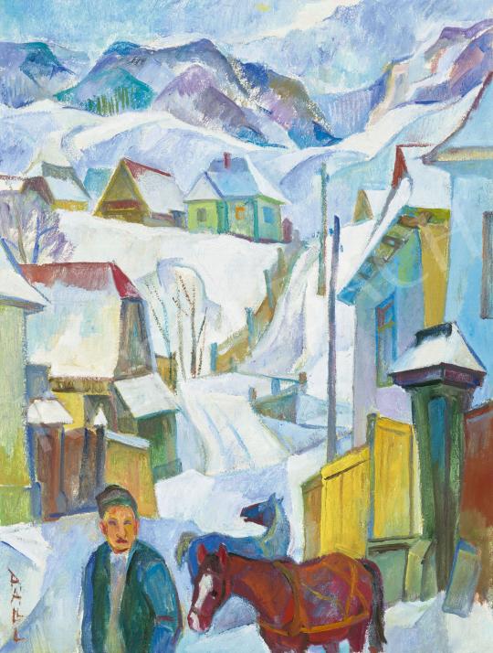 Páll Lajos - Tél a Székelyföldön | 62. Őszi Aukció aukció / 128 tétel