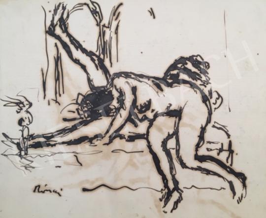 Eladó Rippl-Rónai József - Erotikus jelenet festménye