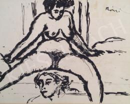 Rippl-Rónai, József - Female nude and head study