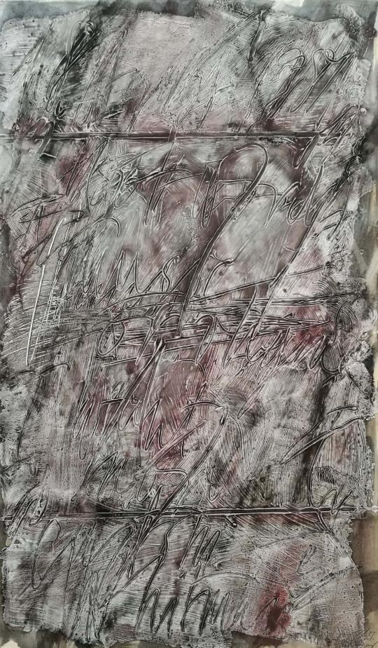 Eladó Lakner László - Whitman , 1981 festménye