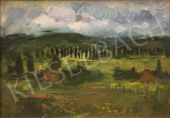 Eladó ifj. Iván Szilárd - Pécsenyi dombok festménye