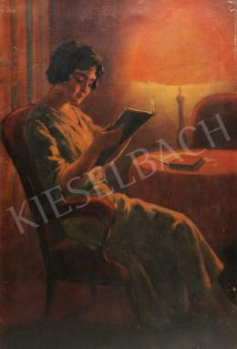 Senyei, József (Schőn József) - Reading girl