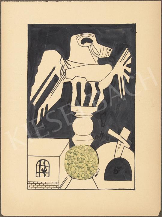 Eladó  Bálint Endre - Szárnyas motívum festménye