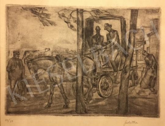 For sale Szobotka, Imre - Rider 's painting