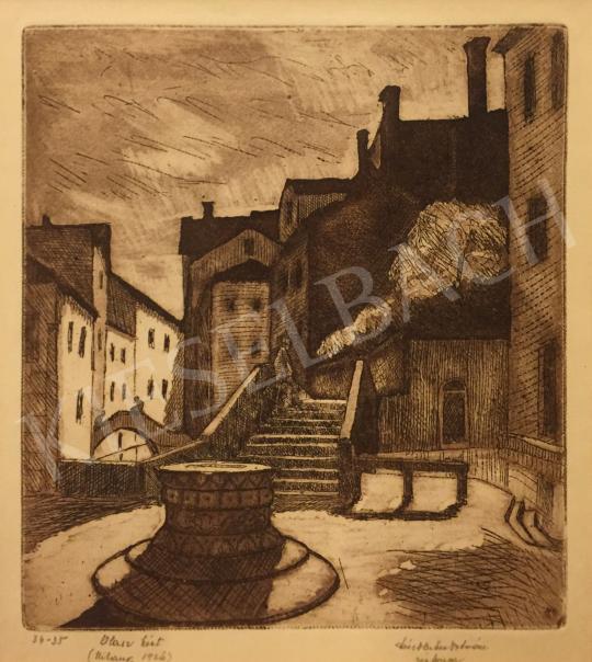 Eladó Dési Huber István - Olasz kút festménye
