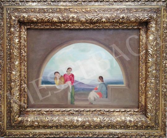 Eladó Mund Hugó - Három grácia festménye
