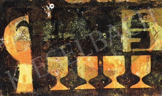 For sale  Bálint, Endre - Full-Glasses, 1973 's painting