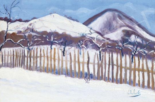Eladó  Jakab Zoltán - Nagybányai táj, 1911 festménye