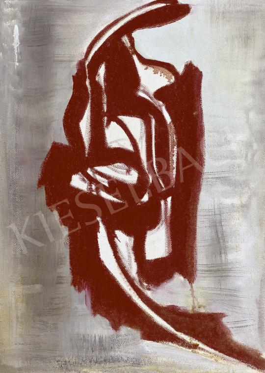 For sale Hortobágyi, Endre - Curiosity (Peek-A-Boo!), c. 1970 's painting