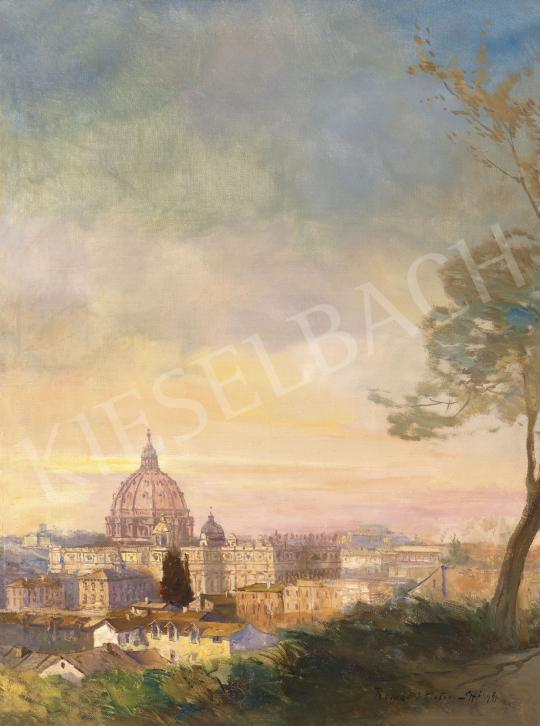 Eladó  Háry Gyula - Róma  festménye