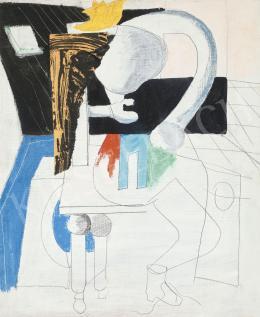 Konok Tamás - Ülő nő metamorfózisa, 1968