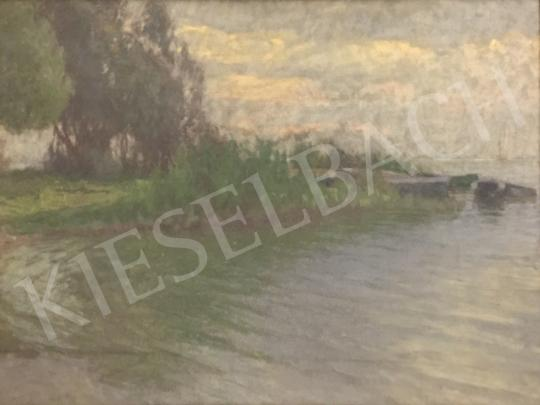 For sale  Poll, Hugó - By the lake 's painting