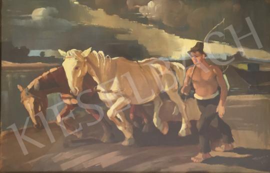 Eladó Tápay Lajos - Nyári munka, 1942   festménye