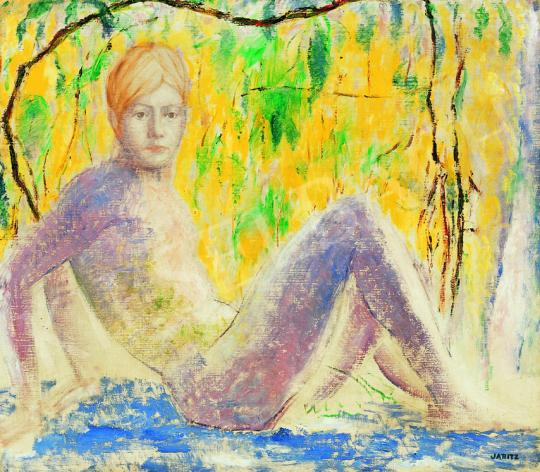 For sale Járitz, Józsa - Nude in the Open Air 's painting