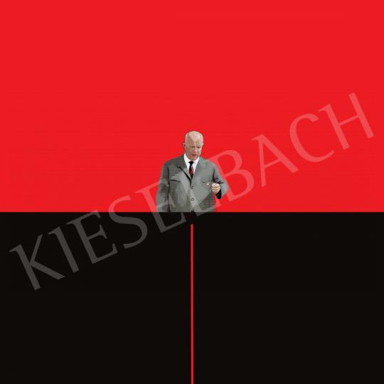 Weiler Péter - Hruscsov kicsit rágyújt festménye