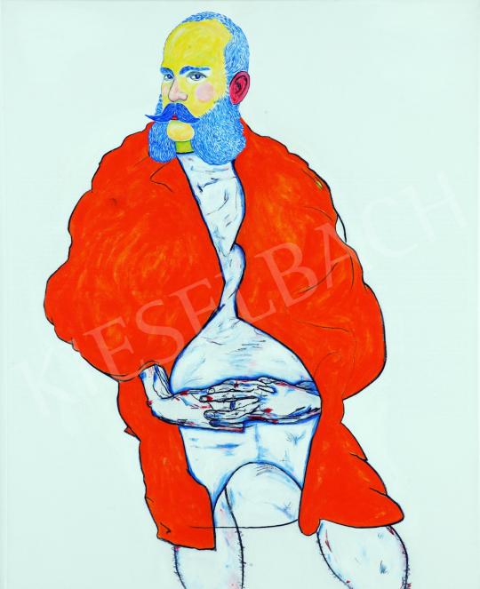 Eladó  drMáriás - Ferenc József Egon Schiele műtermében  festménye