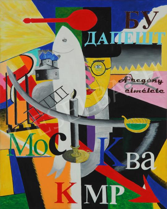 drMáriás - Lukács György Malevics műtermében mozgósít festménye