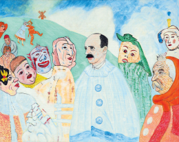 drMáriás - István Bethlen separate-peace negotiations in James Ensor's studio