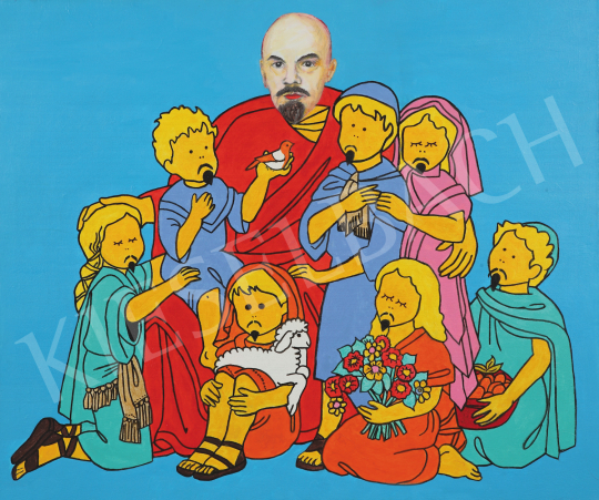 For sale  drMáriás - Today, Uncle Lenin was holding the faith lesson 's painting