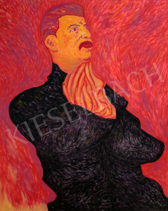 For sale  drMáriás - Stalin prays for the salvation of his victims in Chaim Soutine's studio 's painting