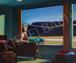 drMáriás - Katalin Karády in Edward Hopper's studio