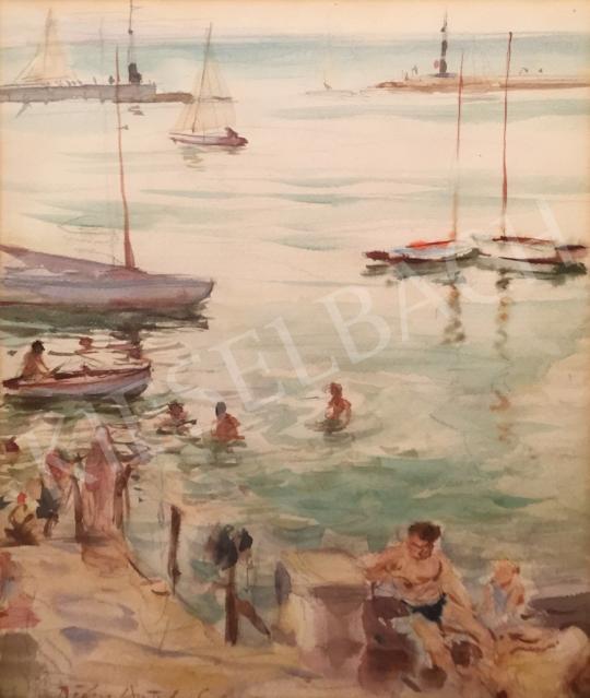 Eladó Diósy Antal - Siófoki öböl festménye