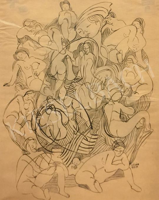 Eladó  Kádár Béla - Aktok festménye