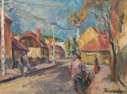 Tenkács Tibor - Tokaji utcarészelet, 1973