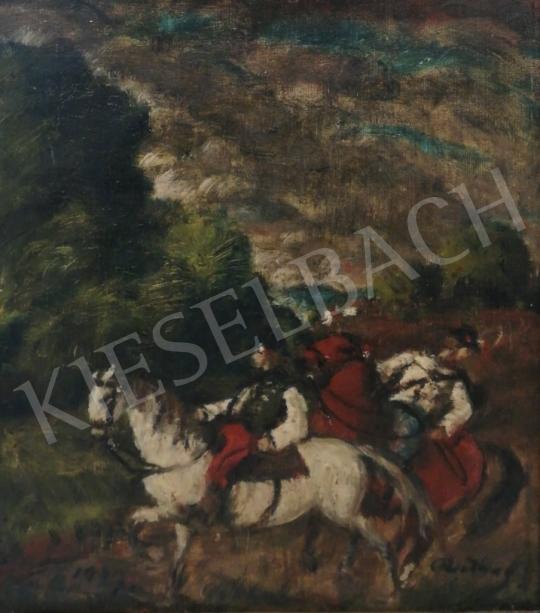 Rudnay, Gyula - Riders, 1939 painting