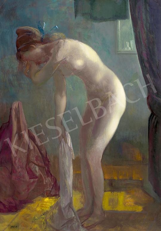 Molnár C. Pál - Reggeli napfény | 63. Téli Aukció aukció / 12 tétel