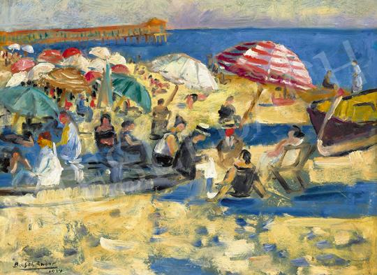 Basch Andor - Francia tengerpart (Cote d'Azur), 1924 | 63. Téli Aukció aukció / 14 tétel