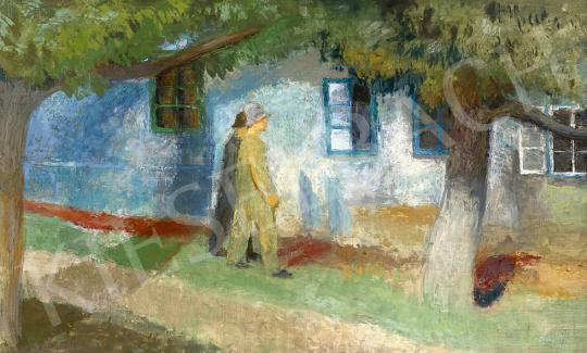 Szőnyi István - Hazafelé (Késődélutáni fények, Zebegény), 1938 | 63. Téli Aukció aukció / 25 tétel