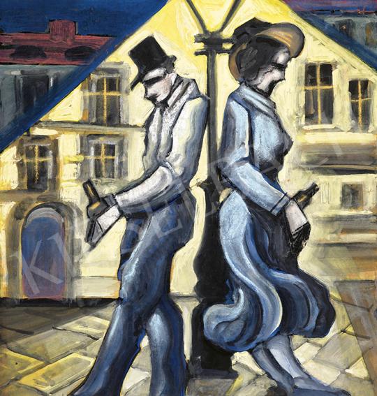 Scheiber, Hugó - Evening Date | 63st Winter Auction auction / 26 Item
