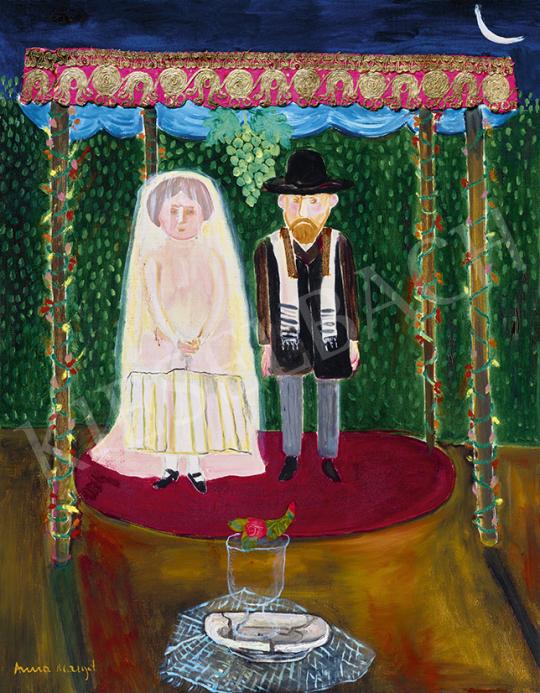 Anna Margit - Zsidó esküvő, 1977 | 63. Téli Aukció aukció / 29 tétel