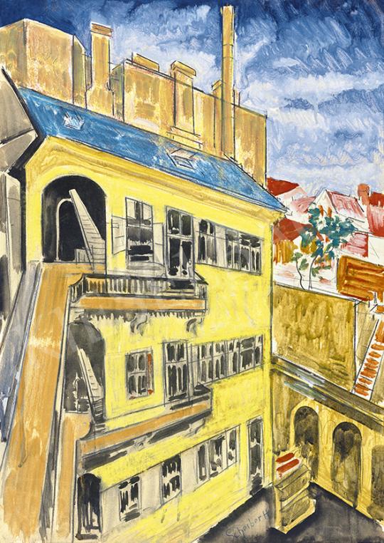 Scheiber Hugó - Pesti bérház | 63. Téli Aukció aukció / 33 tétel
