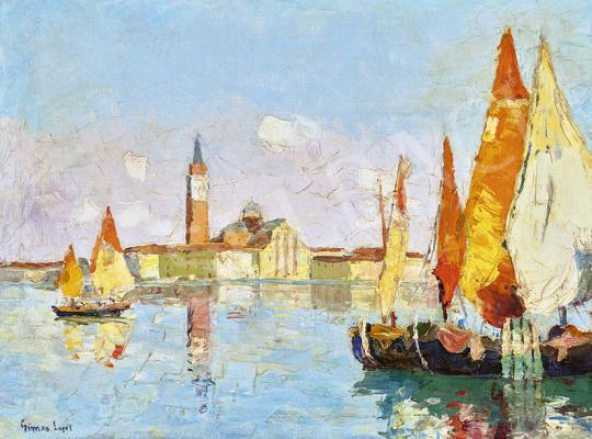 Gimes Lajos - Velence, 1930 körül   | 63. Téli Aukció aukció / 36 tétel