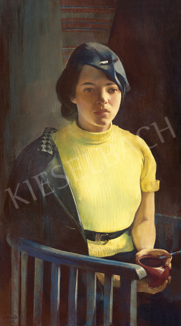 Istókovits, Kálmán - Parisian Student Girl, end of the 1930s