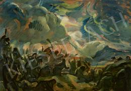 Iványi Grünwald Béla - Küzdelem (Harc), 1916