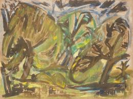 Bálint Endre - Szentendrei kert, 1940