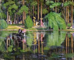 Karczag, Zoltán, - By the Lake