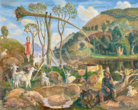 Szabó, Vladimir - The Danube Bend, 1977 | 63st Winter Auction auction / 101 Item