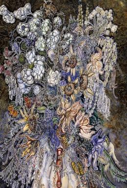 Batthyány, Gyula - Still Life of Flowers