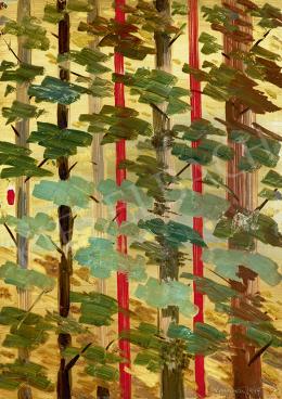 Gyarmathy Tihamér - Organikus struktúra (Erdő), 1949