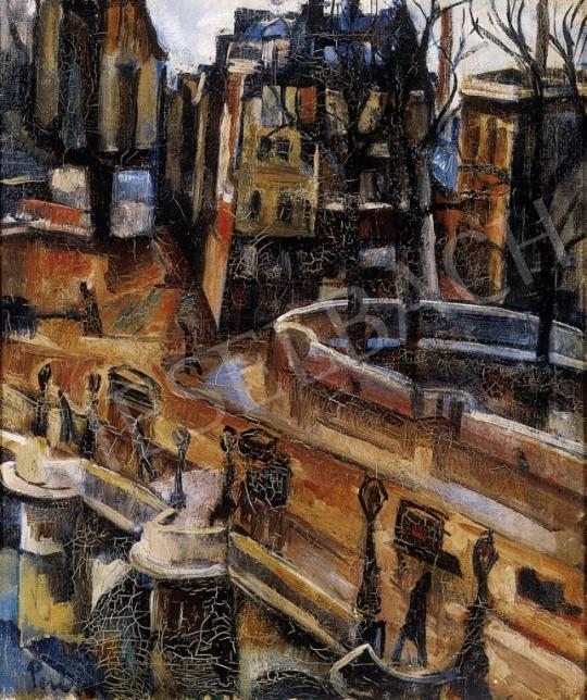 Perlrott Csaba, Vilmos - Parisian Seine Bank | 6th Auction auction / 4 Lot