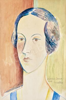 Kmetty, János - Portrait of Ilona Hollós