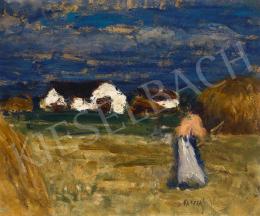 Koszta József - Tanya (Nyári nap), 1910-es évek