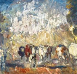 Iványi Grünwald Béla - Hazafelé (Poros út), 1929 körül